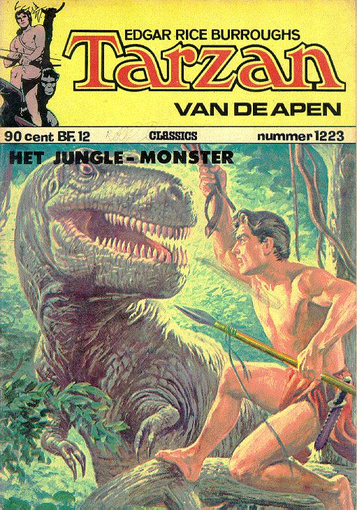 mysterieuze monster in the jungle